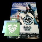 Michael-McFarland-CDs-Buttons-Stickers-and-Poster