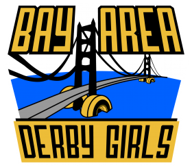 Bay Area Derby Girls Logo - Rebranding