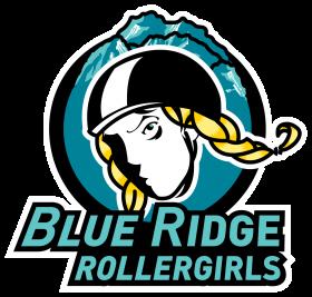 Blue Ridge Roller Girls Logo - Rebranding