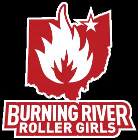 Burning River Roller Girls Logo - Rebranding