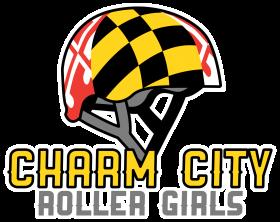 Charm City Roller Girls Logo - Rebranding