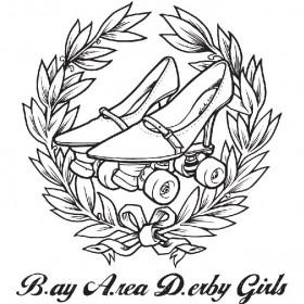 Bay Area Derby Girls Logo - Current