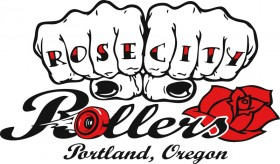 Rose City Rollers Logo - Current