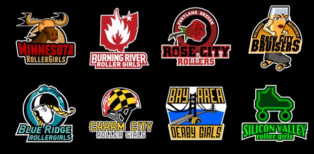 Roller Derby Logos