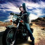 Michael McFarland - Motorcycle Press Shot
