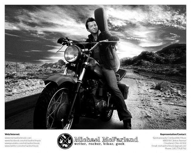 Michael McFarland 8x10 promo shot