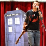 Live at Oddmall (TARDIS picture)
