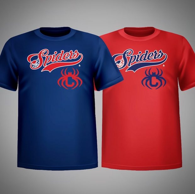 Cleveland Spiders T-shirt Design